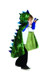 [54905] Dragon Cape with Claws Green 5/6